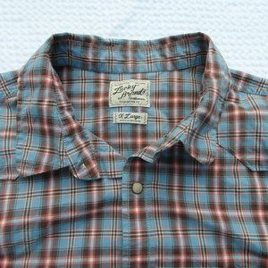 Women's Lucky Brand Western Shirt Sz XL